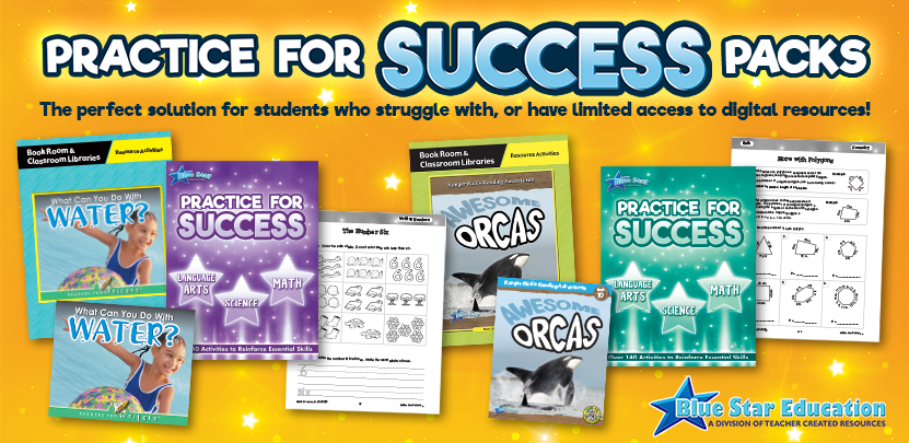 Practice for Success Packs